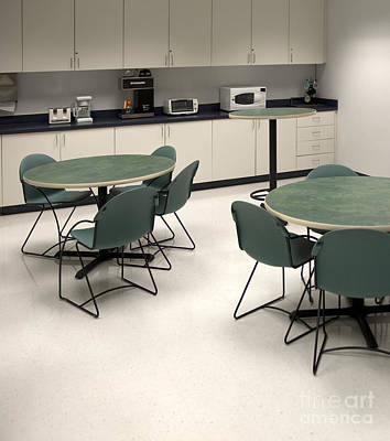 Toaster Photograph - Office Break Room by Will & Deni McIntyre