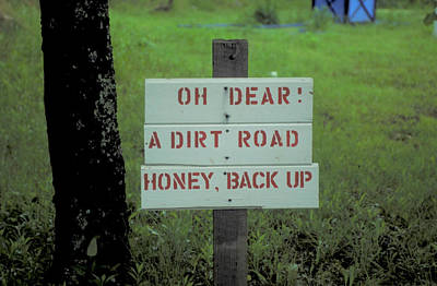 Backup Photograph - Oh Dear Honey Backup by Carl Purcell
