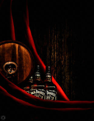 Wine Barrel Photograph - Oh Jack by Lourry Legarde