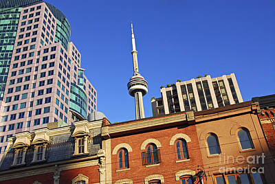 Seeing Photograph - Old And New Toronto by Elena Elisseeva