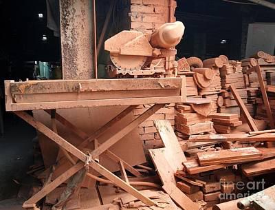 Mess Photograph - Old Brick Making Factory by Yali Shi