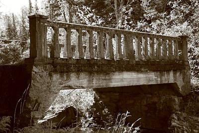 Old Bridge Print by Paula Brown