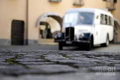 Antic Car Photograph - Old Buss by Mats Silvan