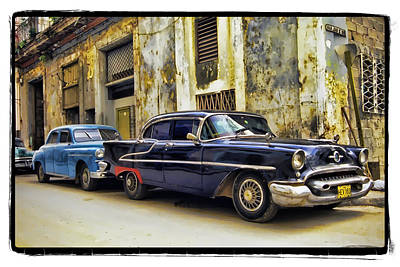 Old Car 1 Print by Mauro Celotti