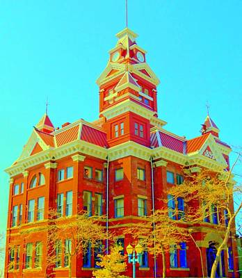 Old City Hall Bellingham Print by Randall Weidner