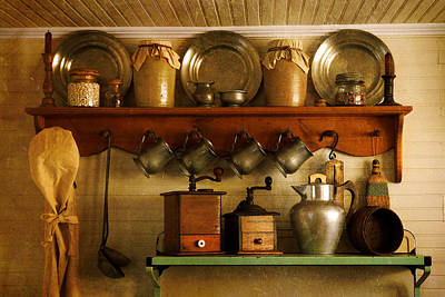 Butter Molds Photograph - Old Country Life by Carmen Del Valle
