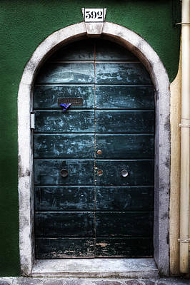 Letter Box Photograph - Old Door by Joana Kruse
