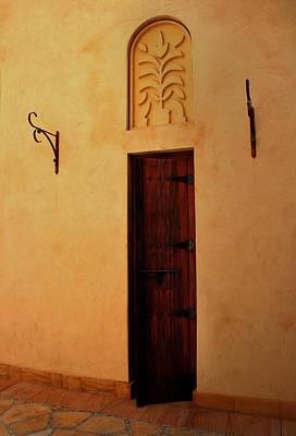 Old Door Print by Radoslav Nedelchev