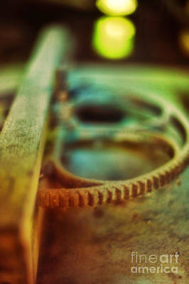 Abstraction Photograph - Old Farm Equipment by HD Connelly
