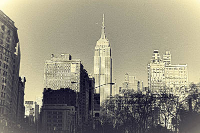 Old-fashioned Empire State Building Original by Alex AG