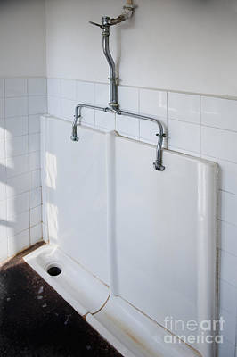 Urinal Photograph - Old Fashioned Urinal by Noam Armonn