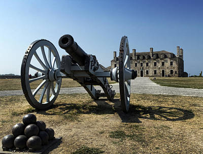 Blacksmiths Photograph - Old Fort Niagara by Peter Chilelli