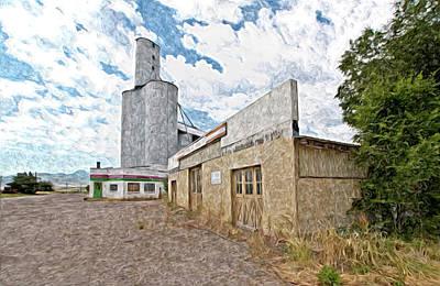 Old Grain Mill Original by James Steele