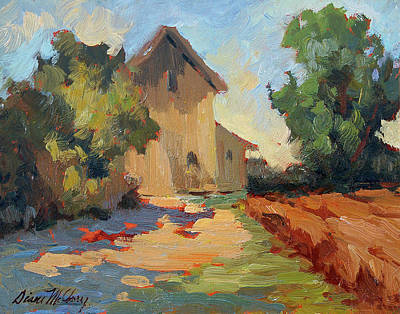 Construction Painting - Old Mill Provence by Diane McClary