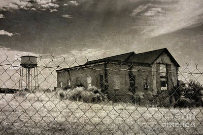 Old Prison Outbuilding Print by Susan Isakson