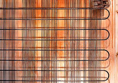 Circuit Photograph - Old  Refridgerator by Tom Gowanlock