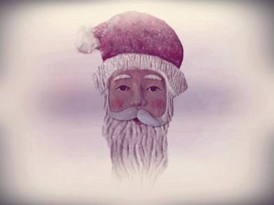Father Christmas Digital Art - Old Saint Nicholas by David Dehner