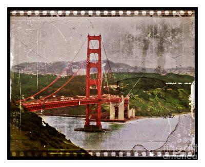 Old San Fran Print by Perry Webster