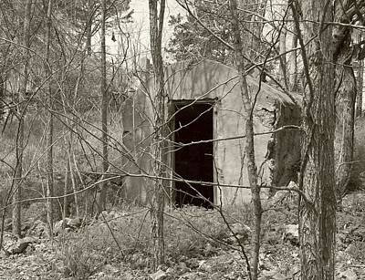 Old Shelter Original by Lora Hall