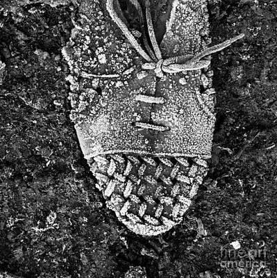 Old Shoe Print by Bernard Jaubert