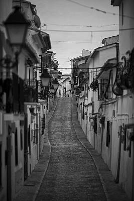 Altea Photograph - Old Street In Altea by Looking for the perfect picture .....