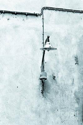 Old Street Lamp Print by Silvia Ganora