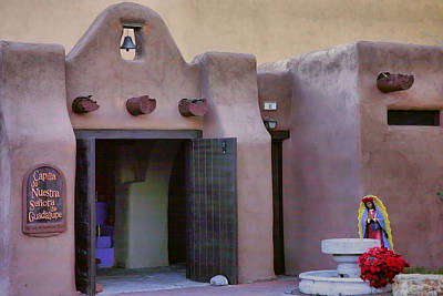 Our Lady Of Guadalupe Photograph - Old Town Chapel I by Steven Ainsworth