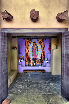 Adobe Church Photograph - Old Town Chapel II by Steven Ainsworth