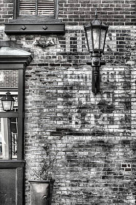 Gas Lamp Photograph - Old Town by JC Findley