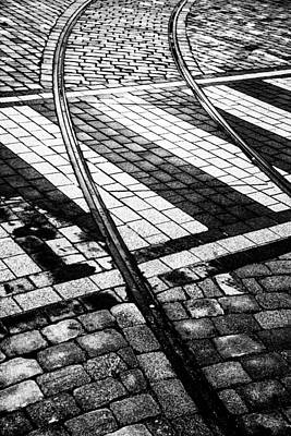 Old Tracks Made New Print by Hakon Soreide