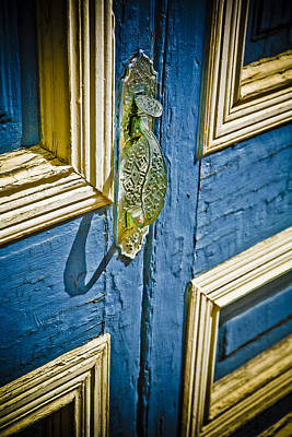 Old Photograph - Old Wood Door by Marilyn Hunt