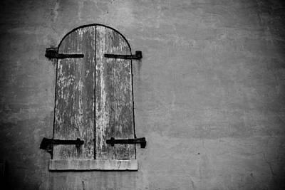 Clarksville Photograph - Old World Window by Paul Bartoszek
