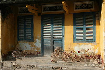 Old Yellow House In Vietnam Print by Tanya Polevaya