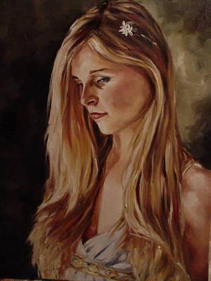 Olivia Painting - Olivia by Christine Warner