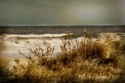 On The Beach Print by Mary Timman