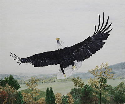 Soaring Painting - On The Rise by Alan Mager