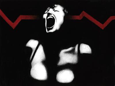 Agony Painting - Onere Hominibus by Pat Erickson