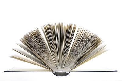 Open Book Print by Frank Tschakert
