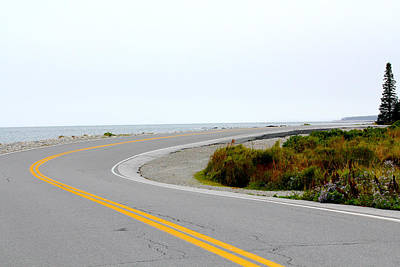 Maine Photograph - Open Road by Bianca Baker