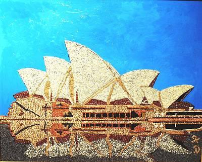 Opera Of Sydney Print by Kovats Daniela