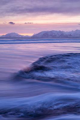 Opposing Waves Print by Tim Grams