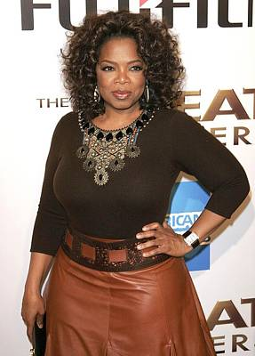 Oprah Winfrey At Arrivals For The Great Print by Everett