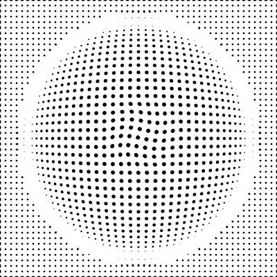 3d Digital Art - Optical Illusion Circle by Sumit Mehndiratta