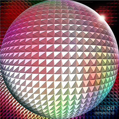 Orb It Print by Cristophers Dream Artistry