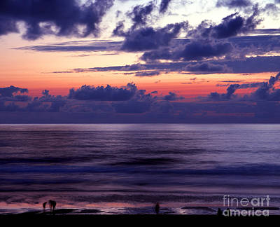 Oregon - Lincoln City Sunset Print by Terry Elniski