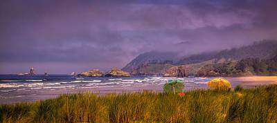 Oregon Seascape Print by David Patterson