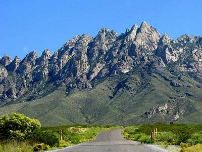 Organ Mountains Print by Lori Pessin Lafargue