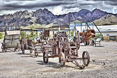 Organ Mountains Print by Roger Burd