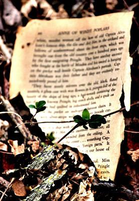 Organic Page Print by Karen M Scovill
