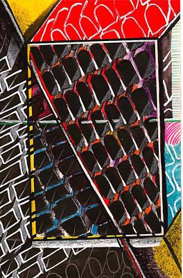 Organizational Sampling Print by Al Goldfarb